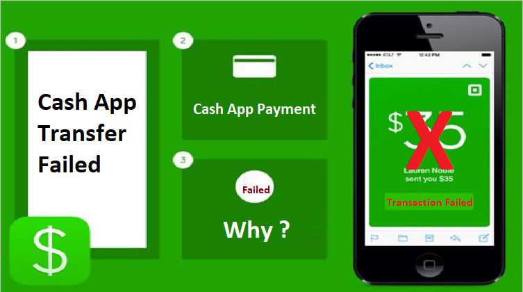 855 558 3948: Why does cash app say Transfer failed & Fix Payment Failed Issue